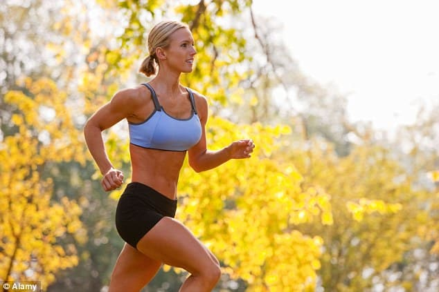 Time to get fit: A running session known fartlek (aka speed play) can take just 15 minutes