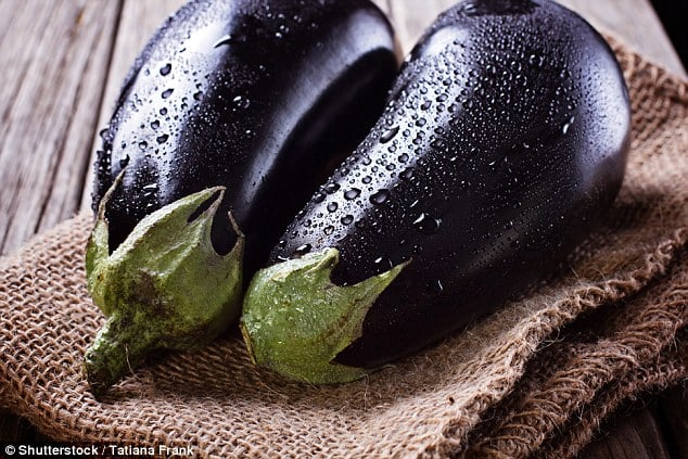Other produce such astomatoes, lettuce, peppers and aubergines (pictured) are also in short supply
