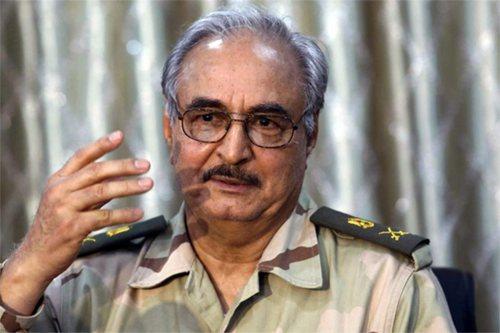 Image of Libyan military chief Khalifa Haftar