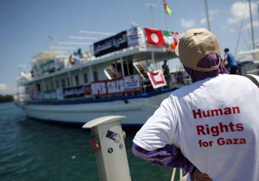 gaza - Régimen sionista detiene a 2.º buque de la Flotilla de la Libertad